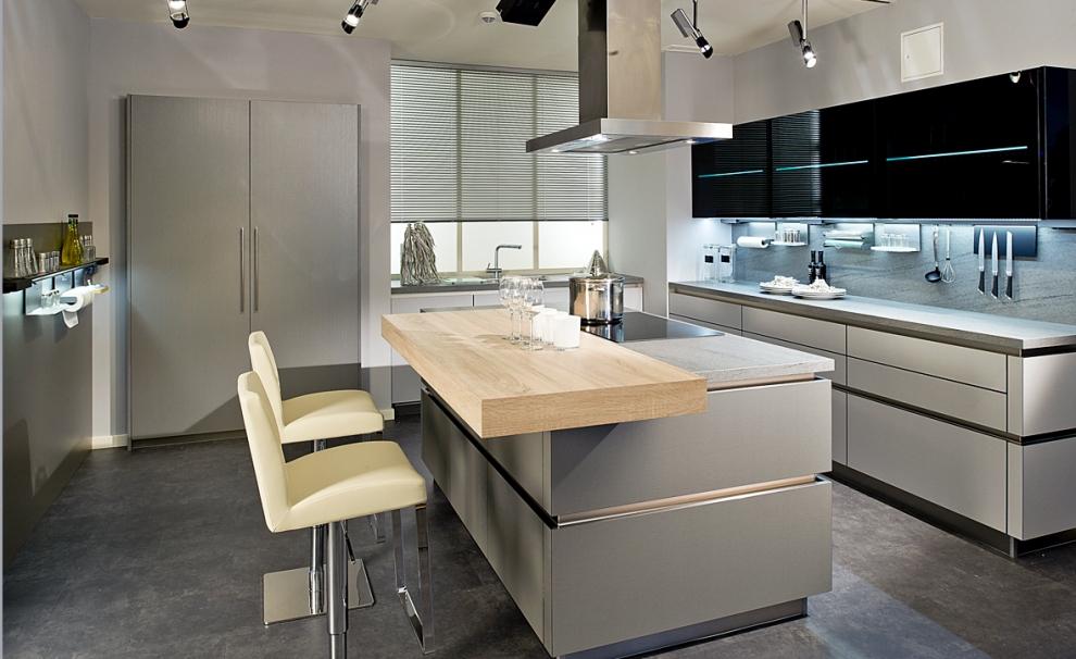 Moderne einbauküchen grau  Devin Lüchen München - hochwertige Küchen von Devin - beste ...