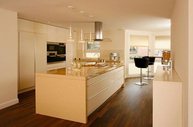 BAX Küchenmanufaktur - STUDIO Lack Hochglanz magnolie